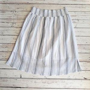 UNIVERSAL THREAD Flowy Striped Skirt M